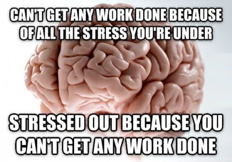 What's stressing you out?