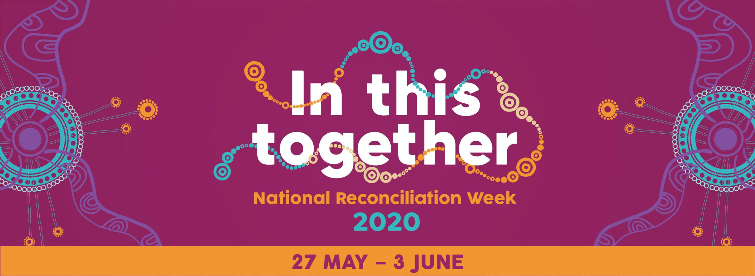 For National Reconciliation Week, we're #InThisTogether2020