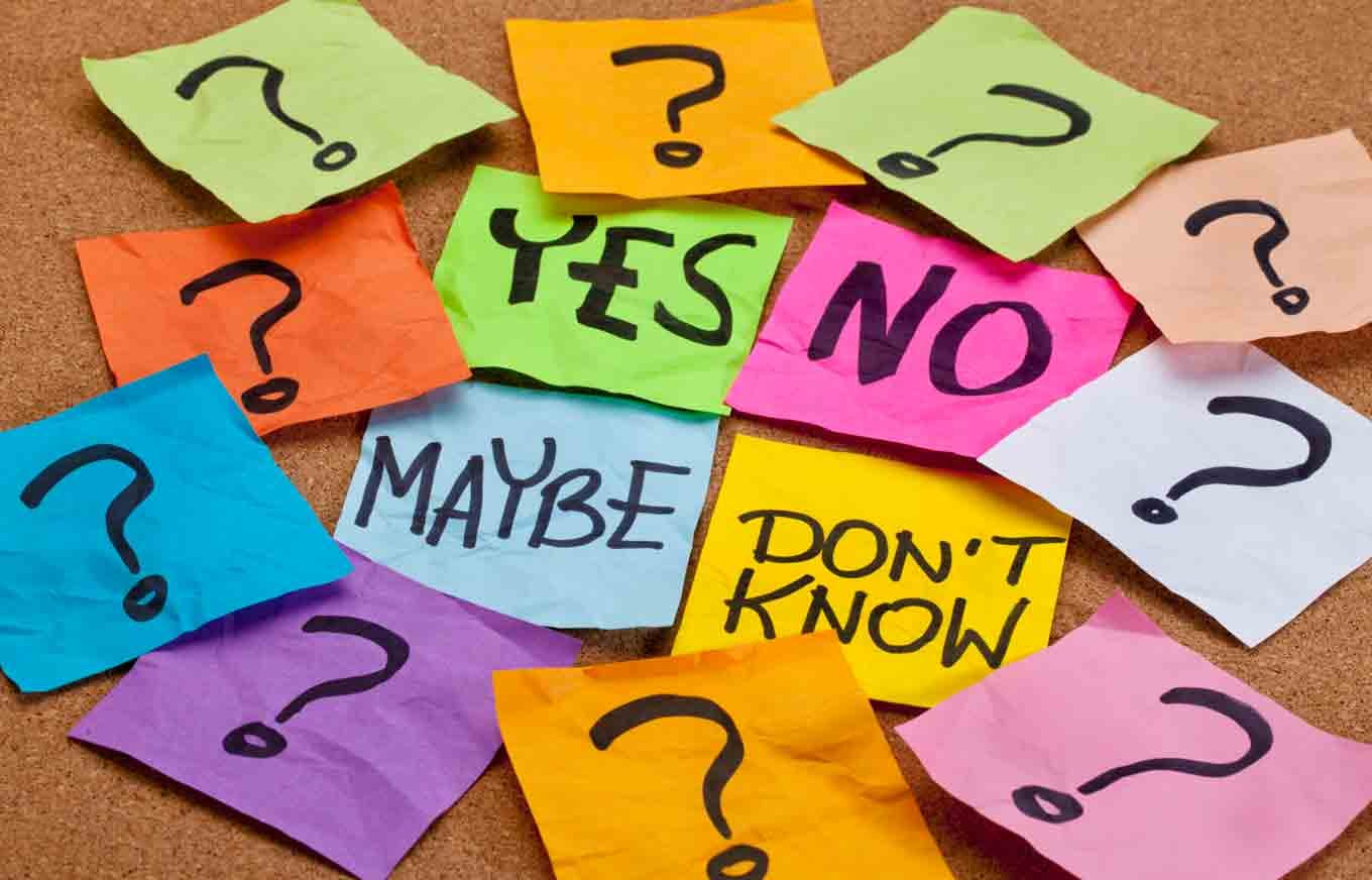 How to make decisions without panicking