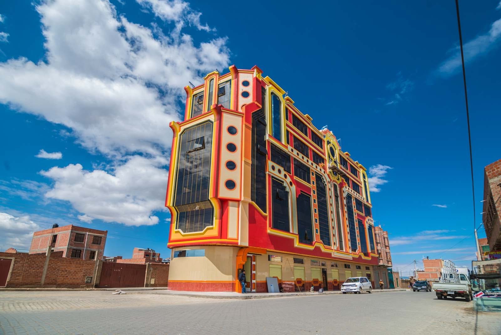 This Bolivian architecture is amazingly futuristic