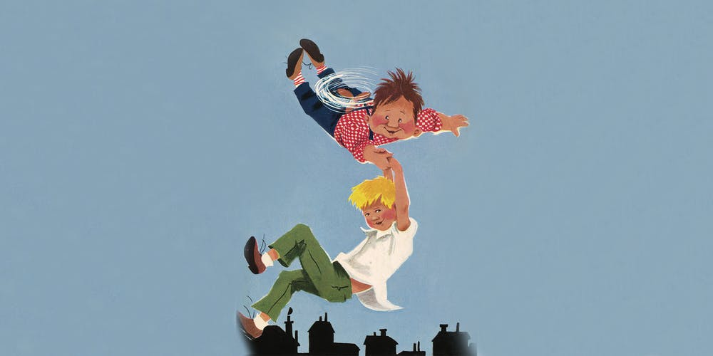 Lillebror och Karlsson på taket