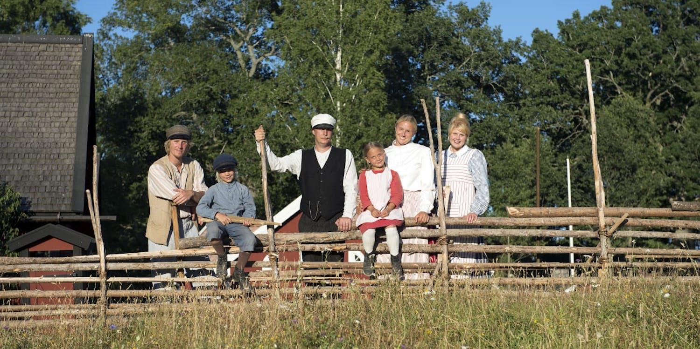 Astrid Lindgrens Värld, familjen Svensson i Katthult