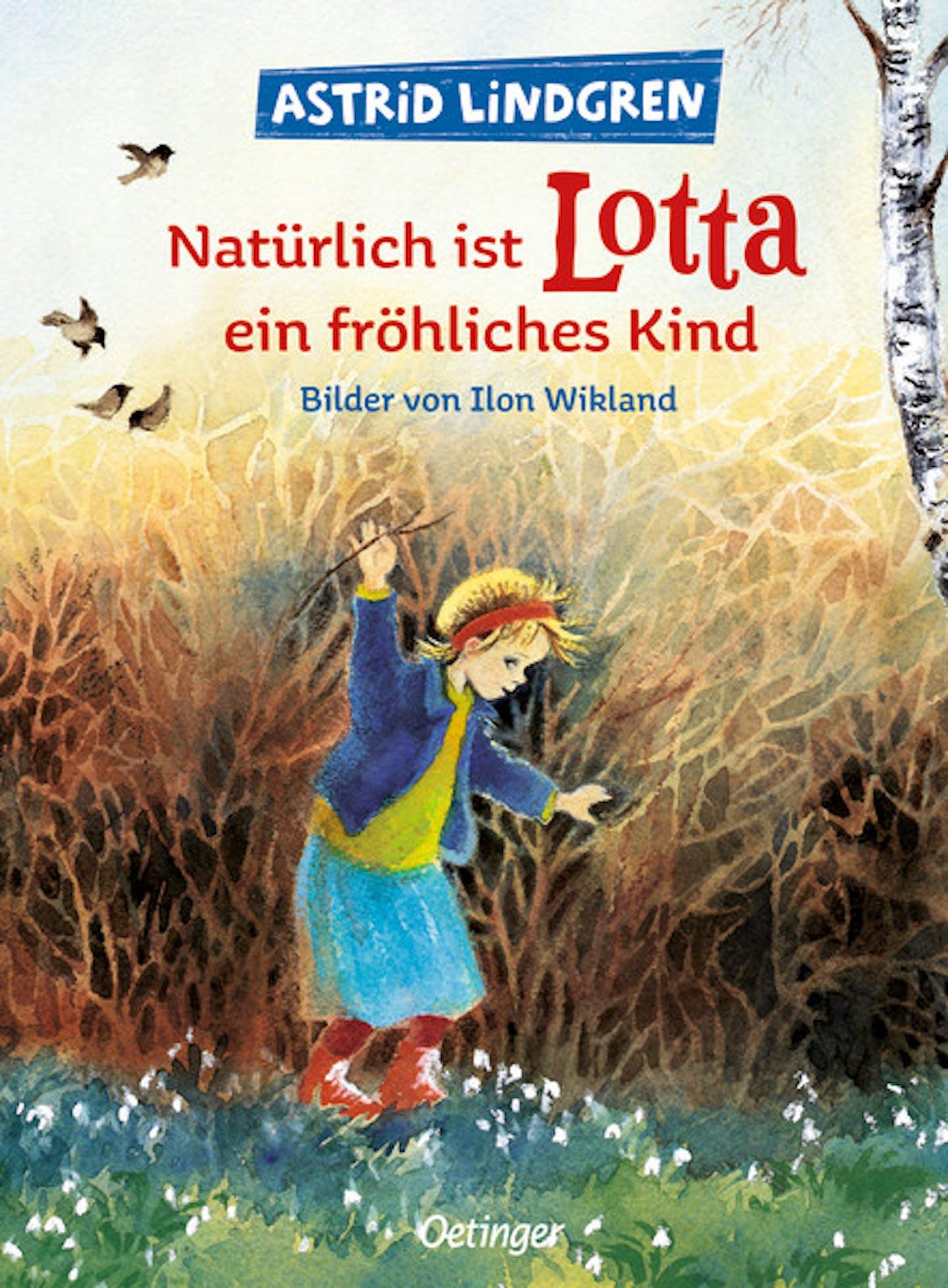 Cover Natürlich ist Lotta ein fröhliches Kind