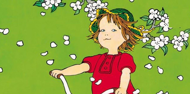 Omslag Visst kan Lotta cykla