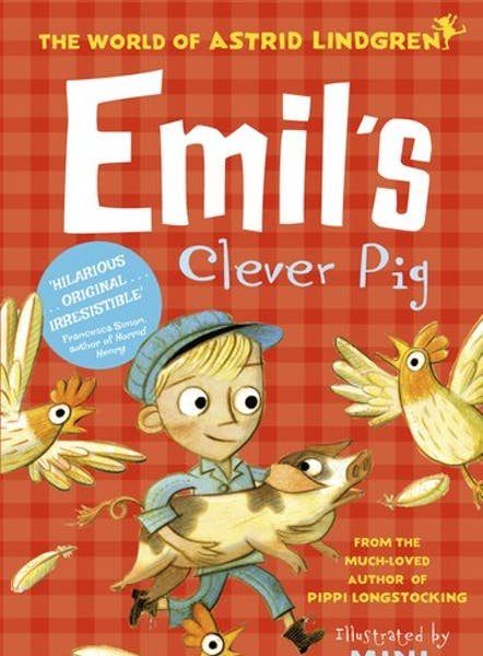 Emil's clever pig, cover by Mini Grey