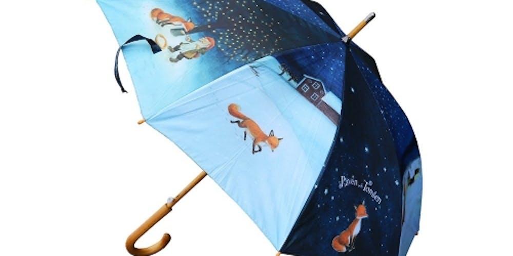 Paraply Räven och tomten