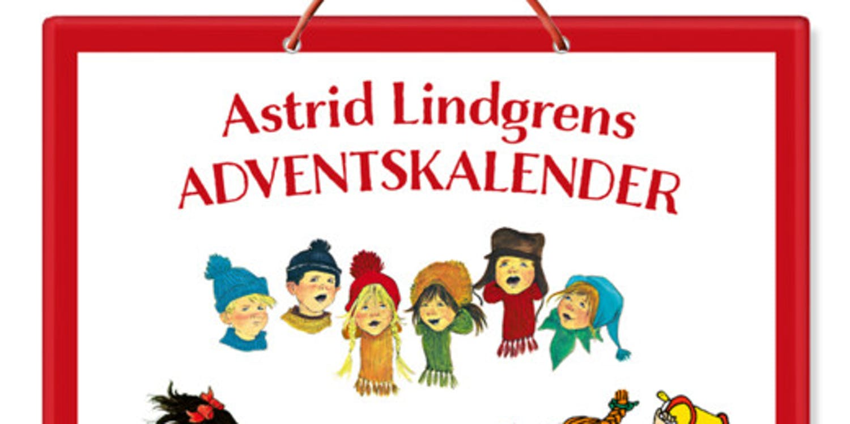Astrid Lindgrens adventskalender, Rabén & Sjögren