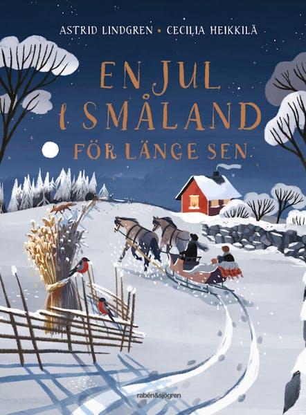 Omslag En jul i Småland för länge sen