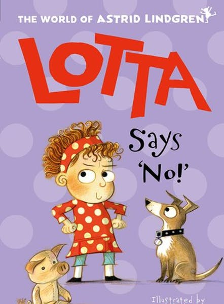 Lotta says no, cover by Mini Grey