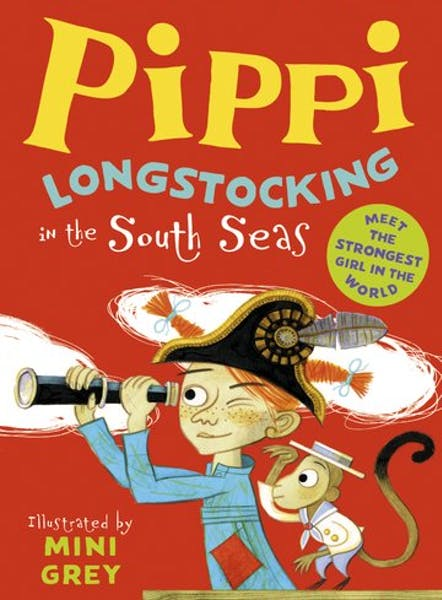 Mini Grey illustrated edition of Pippi in the South Seas