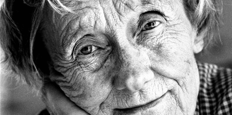Porträtt av Astrid Lindgren