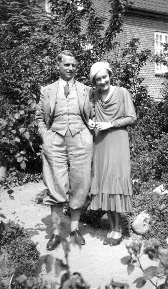 Sture och Astrid Lindgren 1930-talet
