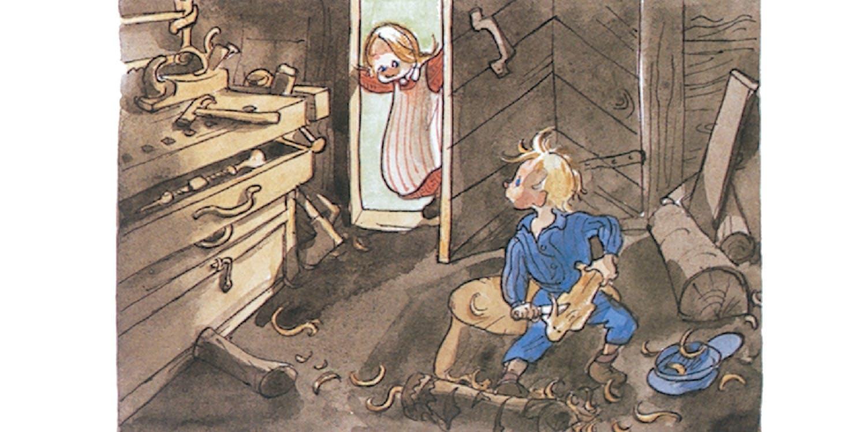 Ida och Emil i snickerboa