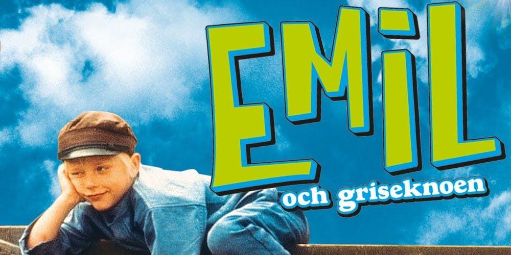 Film poster Emil och griseknoen