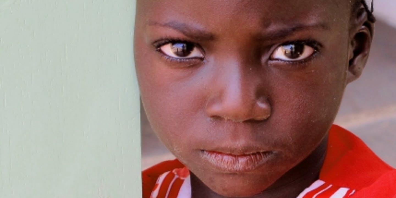 Flicka i Centralafrikanska Republiken