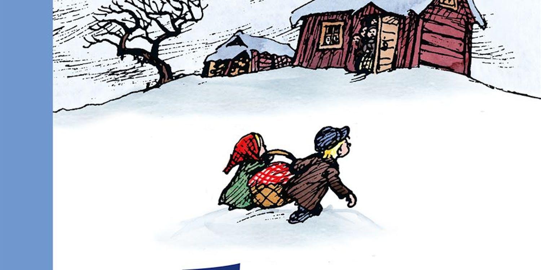 Omslag Emils vinterhyss