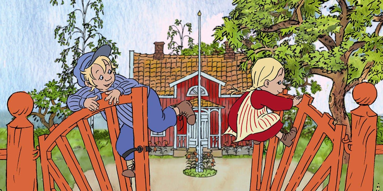Film poster Michel & Ida aus Lönneberga