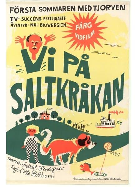 Film poster Vi på Saltkråkan