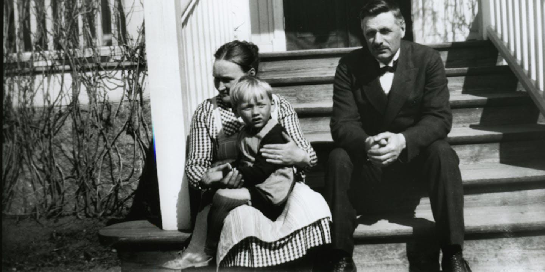 Hanna, Lasse och Samuel August