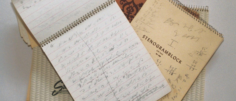 Stenogramblock