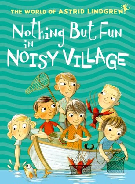 Nothing but fun in Noisy Village, cover by Mini Grey