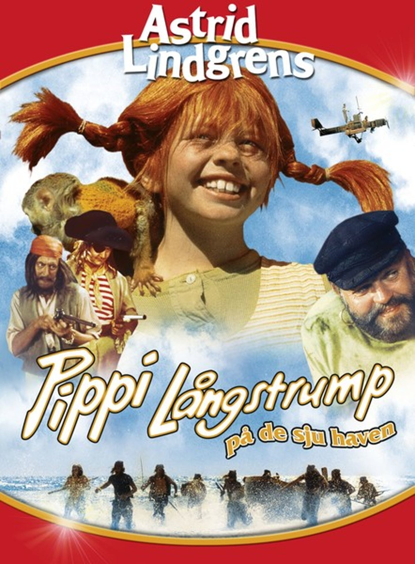 Film poster Pippi på de sju haven