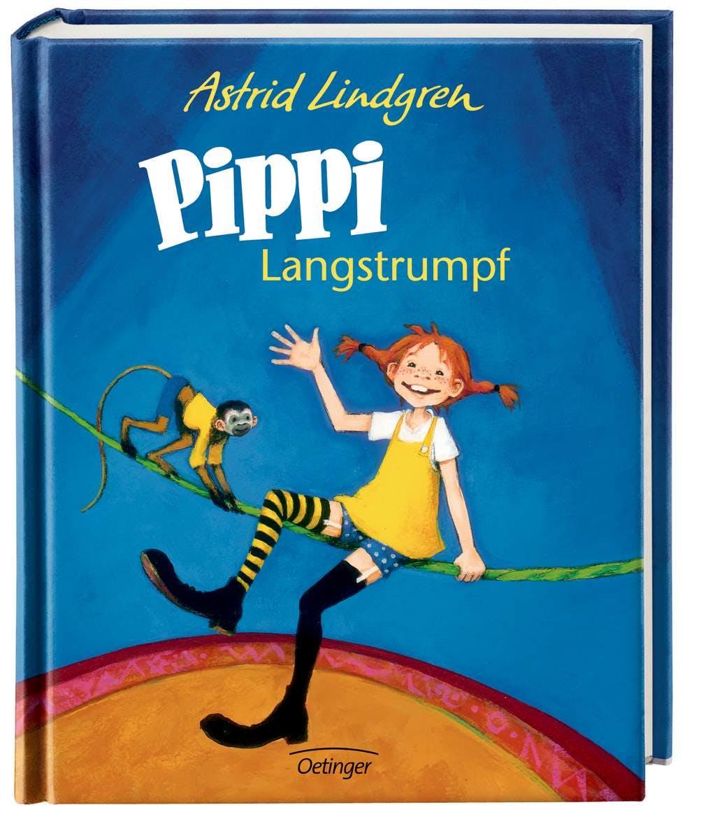 Omslag Pippi Langstrumpf Katrin Engelking
