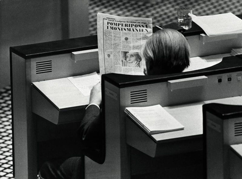 Gunnar Sträng läser sagan om Pomperipossa
