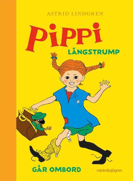 Omslag Pippi Långstrump går ombord 2020