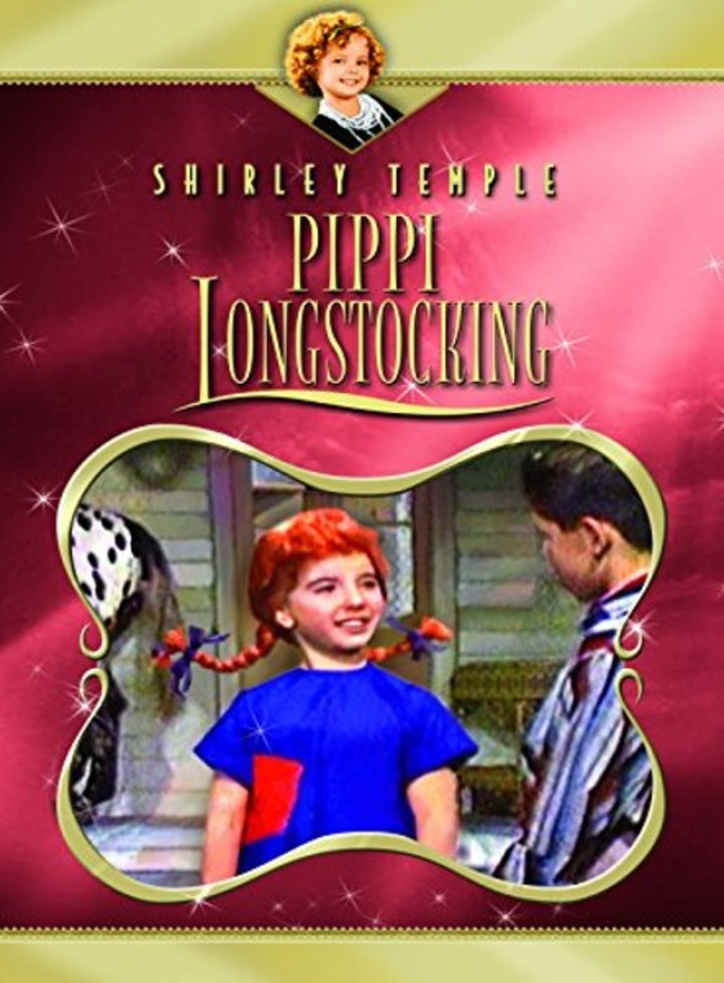 Film poster Shirley Temple's Storybook Pippi Longstocking