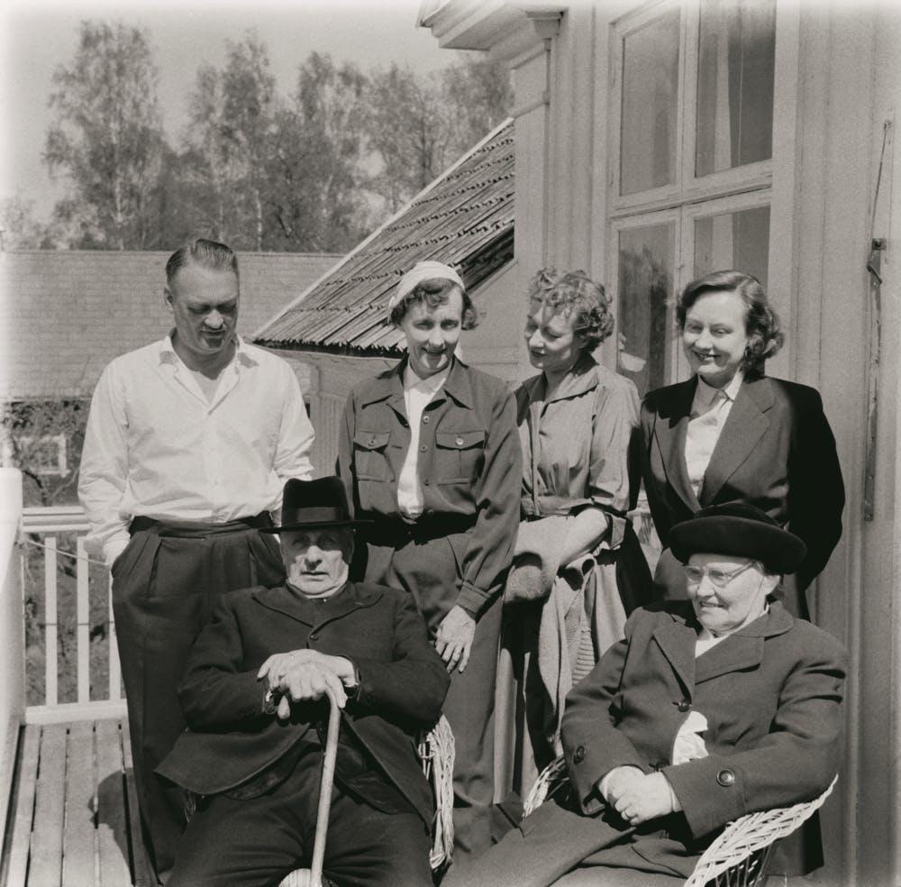 Gunnar, Astrid, Ingegerd, Stina, Samuel August, Hanna, 1961
