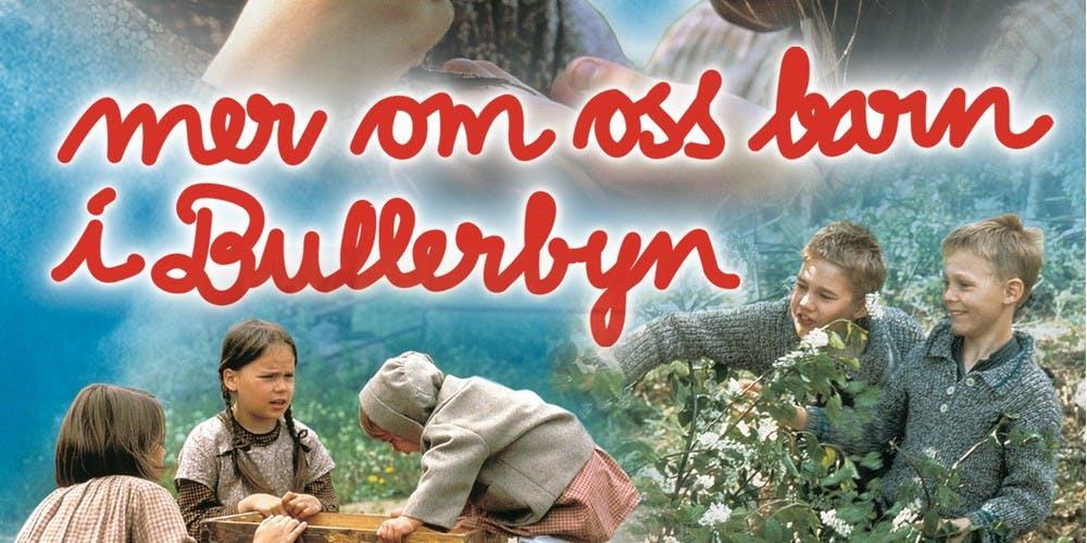 Film poster Mer om oss barn i Bullerbyn