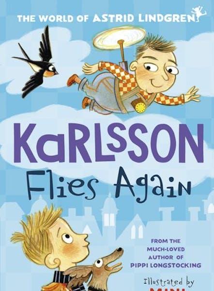 Cover of Karlsson Flies Again