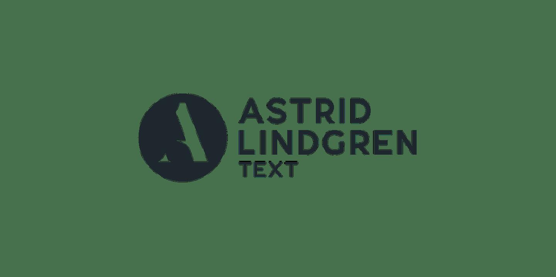 Astrid Lindgren Text logotyp