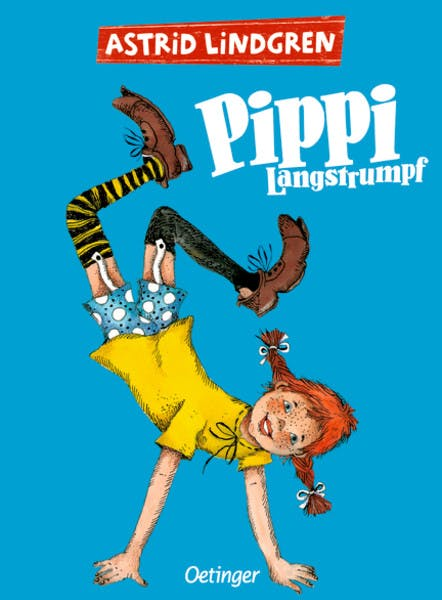 Cover Pippi Langstrumpf