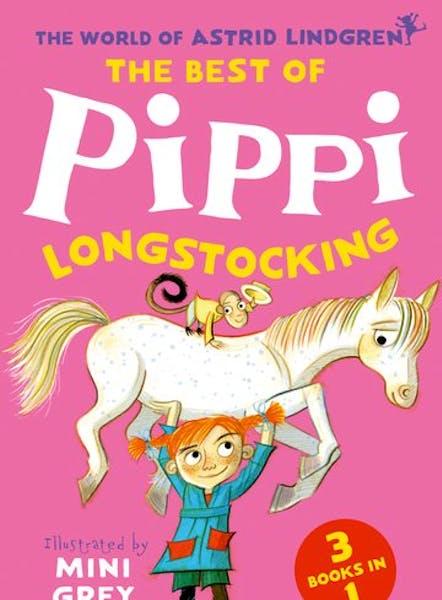 Cover of The Best of Pippi Longstocking