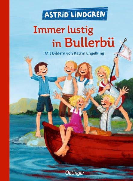 Cover Immer lustig in Bullerbü