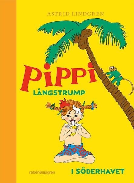Omslag Pippi Långstrump i Söderhavet 2020