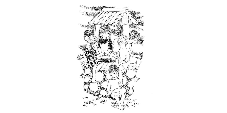 Barnen vid brunnen