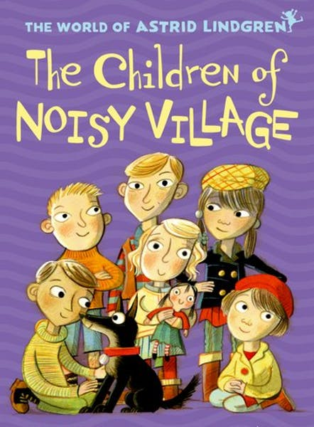 The Children of Noisy Village, cover by Mini Grey
