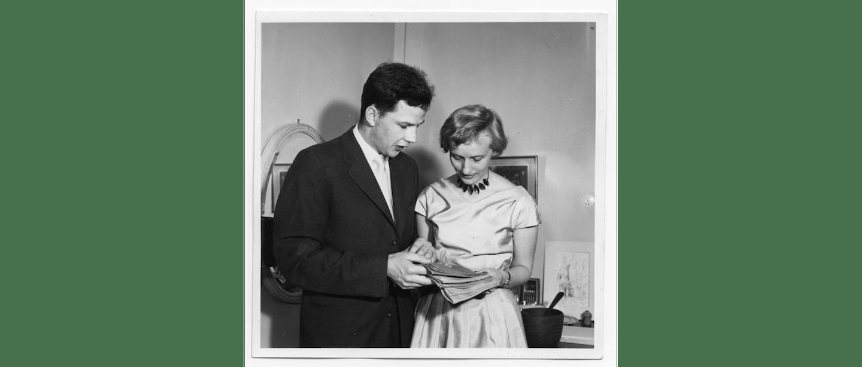 Karin och Carl Olof Nyman 1958