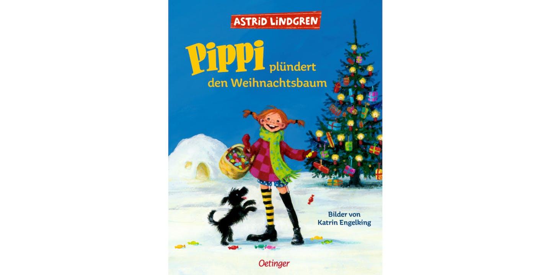 Cover Pippi plundert den Weihnachtsbaum