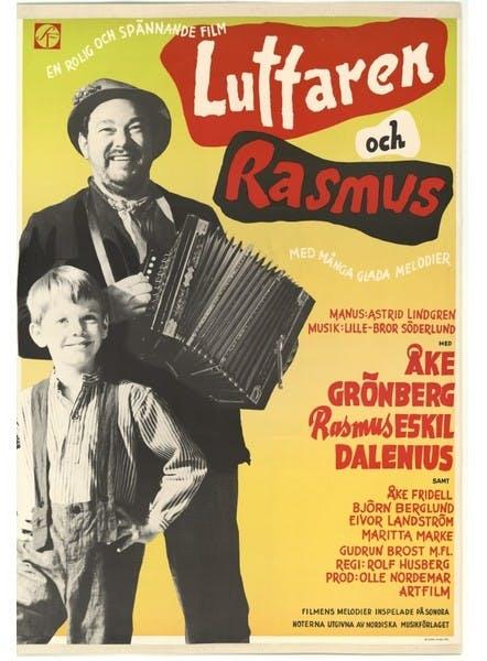 Film poster Luffaren och Rasmus