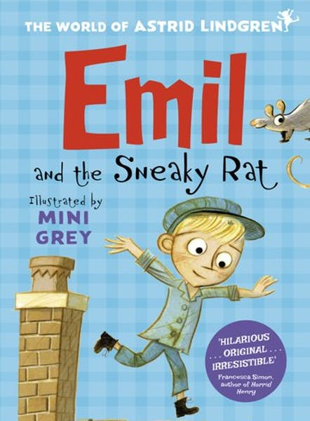 Emil and the sneaky rat, cover by Mini Grey
