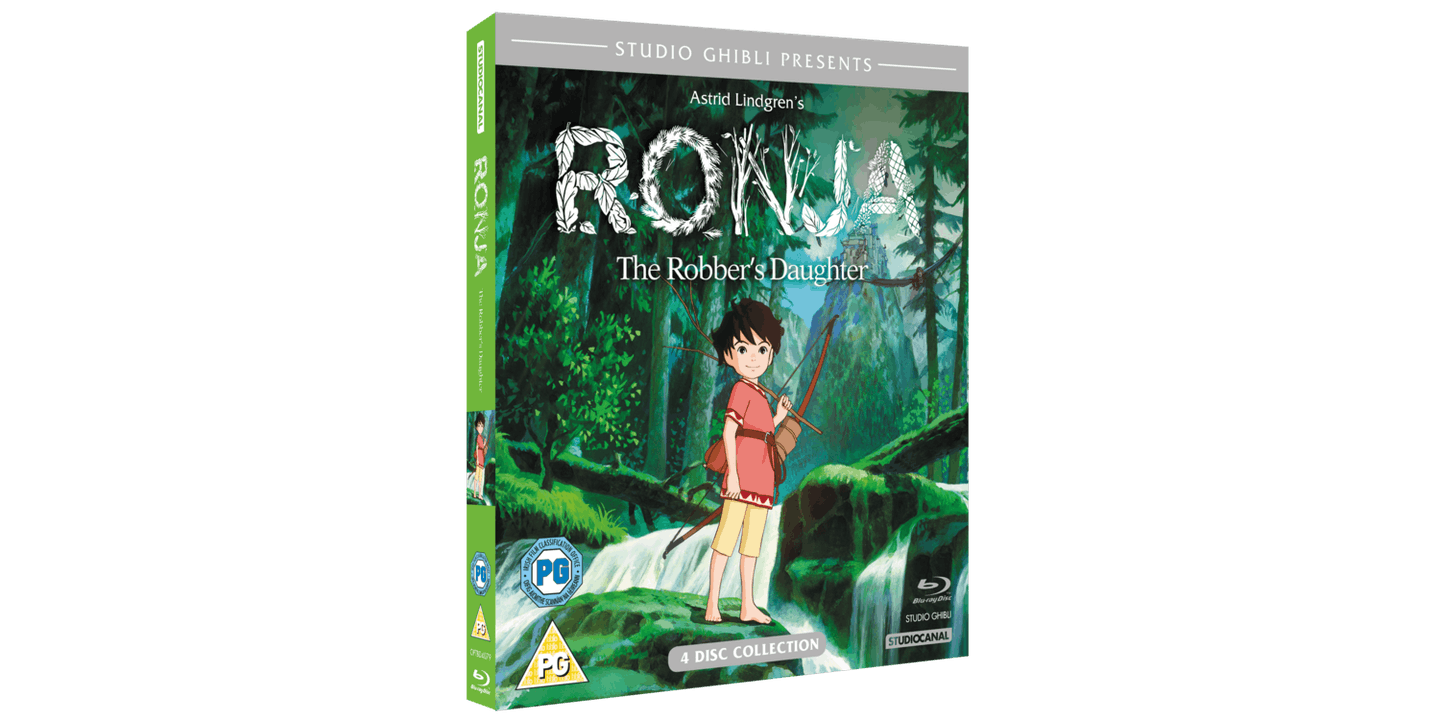 FIlm DVD Bluray Ronja The Robber's Daughter