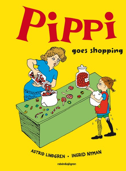 Cover of Pippi goes shopping