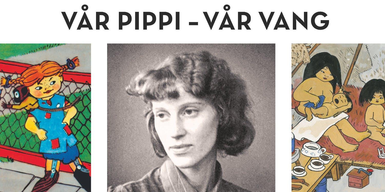 Omslag Vår Pippi - Vår Vang