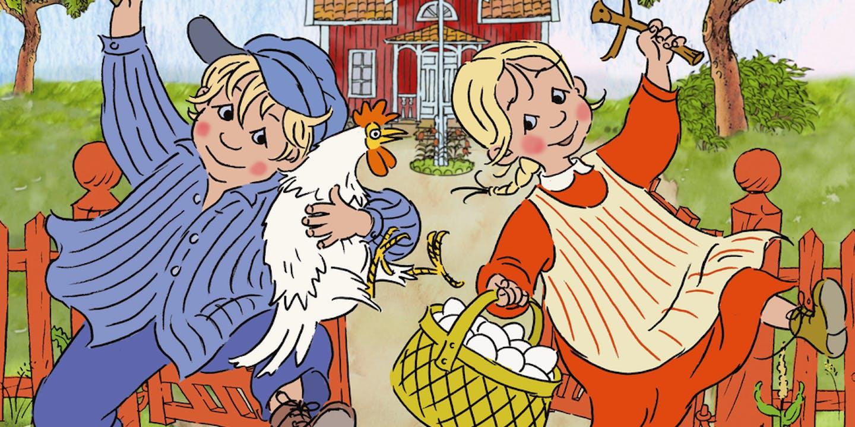 Film poster Emil & Ida i Lönneberga