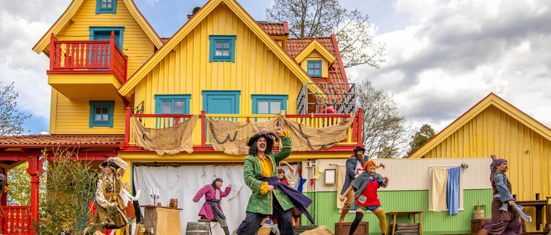 Astrid Lindgrens Värld, teaterföreställning i Villa Villekulla