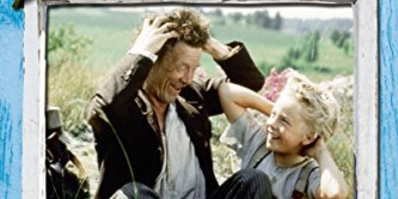 Film poster Rasmus und der Vagabund